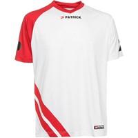 Patrick Victory Shirt Korte Mouw - Wit / Rood