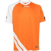 Patrick Victory Shirt Korte Mouw - Oranje / Wit