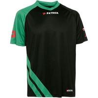 Patrick Victory Shirt Korte Mouw Kinderen - Zwart / Groen