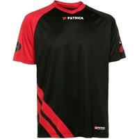 Patrick Victory Shirt Korte Mouw - Zwart / Rood