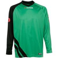 Patrick Victory Voetbalshirt Lange Mouw - Groen / Zwart