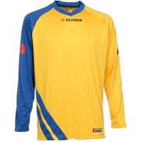 Patrick Victory Voetbalshirt Lange Mouw - Geel / Royal