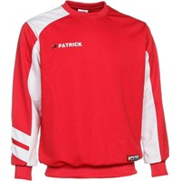 Patrick Victory Sweater - Rood / Wit