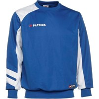 Patrick Victory Sweater - Royal / Wit