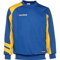 Patrick Victory Sweater - Royal / Geel