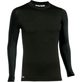 Picture of Patrick Skin Shirt Opstaande Kraag - Zwart