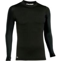 Patrick Skin Shirt Opstaande Kraag - Zwart