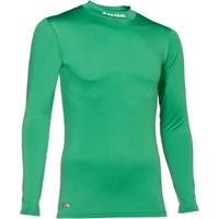 Patrick Skin Shirt Opstaande Kraag Kinderen - Groen