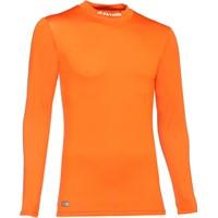 Patrick Skin Shirt Opstaande Kraag - Oranje