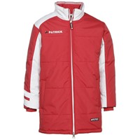 Patrick Victory Coach Jacket - Rood / Wit
