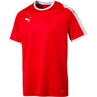 Picture of Puma Liga Shirt Korte Mouw - Rood / Wit