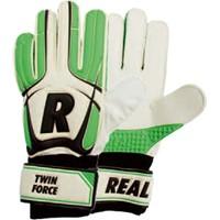 Real Twin Force Keepershandschoenen Kinderen - Wit / Groen / Zwart