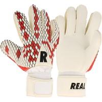 Real Fun Red Keepershandschoenen Kinderen - Wit / Rood / Zwart