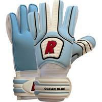 Real Ocean Blue Keepershandschoenen Kinderen - Wit / Lichtblauw / Rood