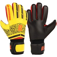 Real Tricolor Keepershandschoenen - Geel / Zwart / Rood