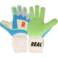 Real Greenforce Keepershandschoenen Kinderen - Wit / Groen / Lichtblauw / Rood