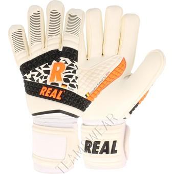 Picture of Real Dynamic Keepershandschoenen - Wit / Zwart / Oranje