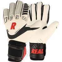 Real Power Keepershandschoenen - Wit / Zwart / Rood