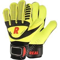 Real Vision Yellow Keepershandschoenen Kinderen - Fluogeel