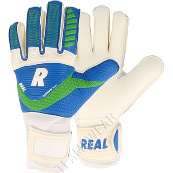 Picture of Real Match Keepershandschoenen - Wit / Royal / Groen
