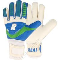 Real Match Keepershandschoenen - Wit / Royal / Groen
