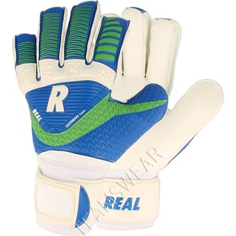 Picture of Real Match Keepershandschoenen Kinderen - Wit / Royal / Groen