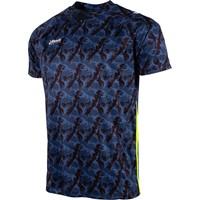Reece Varsity Limited Shirt - Zwart / Blauw