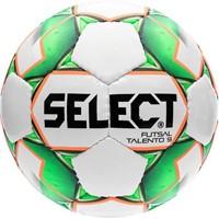 Select Futsal Talento 9 Voetbal Kinderen - Wit / Groen / Oranje