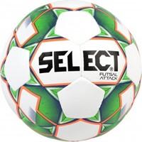 Select Futsal Attack (grain) Voetbal - Wit / Groen / Fluo Oranje