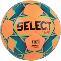 Select Futsal Super Voetbal - Oranje / Fluo Groen