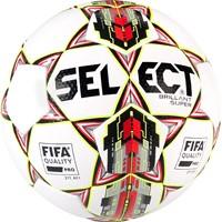 Select Brillant Super Tb Wedstrijdbal - Wit / Rood / Geel