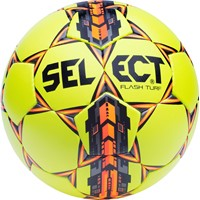 Select Flash Turf Trainingsbal - Fluogeel / Rood