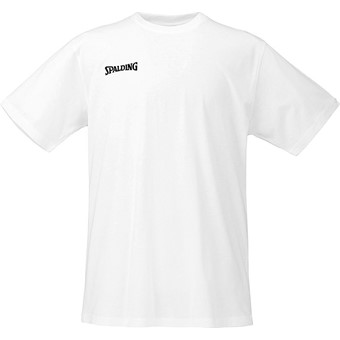 Picture of Spalding Promo T-shirt Kinderen - White