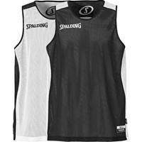 Spalding Essential Reversible Shirt - Wit / Zwart