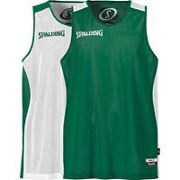 Spalding Essential Reversible Shirt Kinderen - Wit / Groen