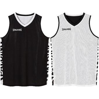 Picture of Spalding Essential 2.0 Reversible Shirt Kinderen - Zwart / Wit