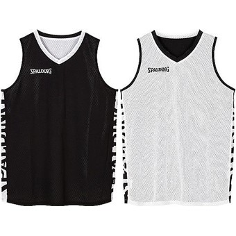 Picture of Spalding Essential 2.0 Reversible Shirt - Zwart / Wit