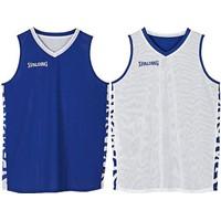 Spalding Essential 2.0 Reversible Shirt - Royal / Wit