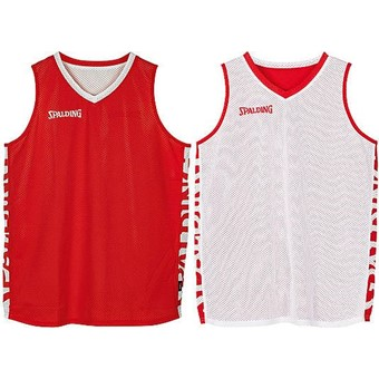 Picture of Spalding Essential 2.0 Reversible Shirt Kinderen - Rood / Wit