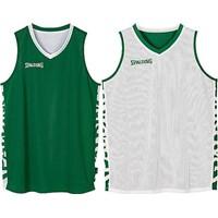 Spalding Essential 2.0 Reversible Shirt Kinderen - Groen / Wit