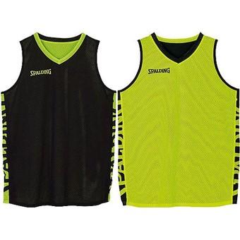 Picture of Spalding Essential 2.0 Reversible Shirt Kinderen - Zwart / Fluogeel