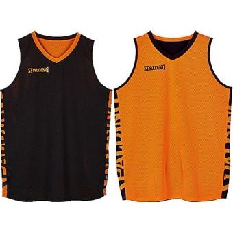 Picture of Spalding Essential 2.0 Reversible Shirt - Zwart / Oranje
