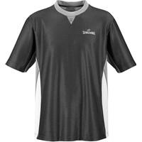 Spalding Pro Scheidsrechtersshirt - Zwart / Grijs