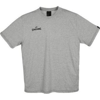 Picture of Spalding Team II T-shirt Kinderen - Grijs Gemeleerd