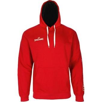 Picture of Spalding Team II Sweater Met Kap Kinderen - Rood