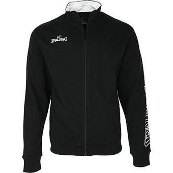 Picture of Spalding Team II Zipper Jacket Kinderen - Zwart