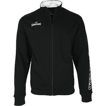 Picture of Spalding Team II Zipper Jacket - Zwart