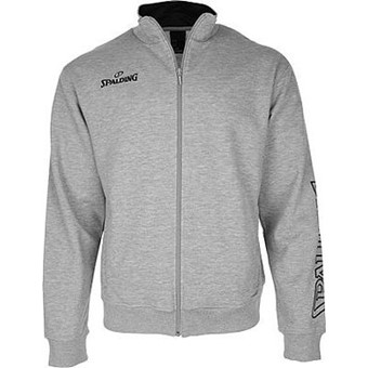 Picture of Spalding Team II Zipper Jacket - Grijs Gemeleerd