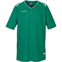 Spalding Attack Shooting Shirt Kinderen - Green / White