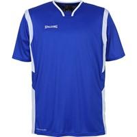 Spalding All Star Shooting Shirt - Royal / Wit